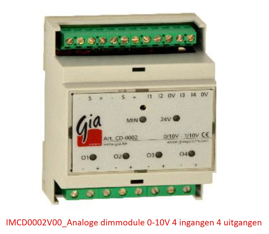 IMCD0002V00_Analoge dimmodule 0-10V 4 I/O