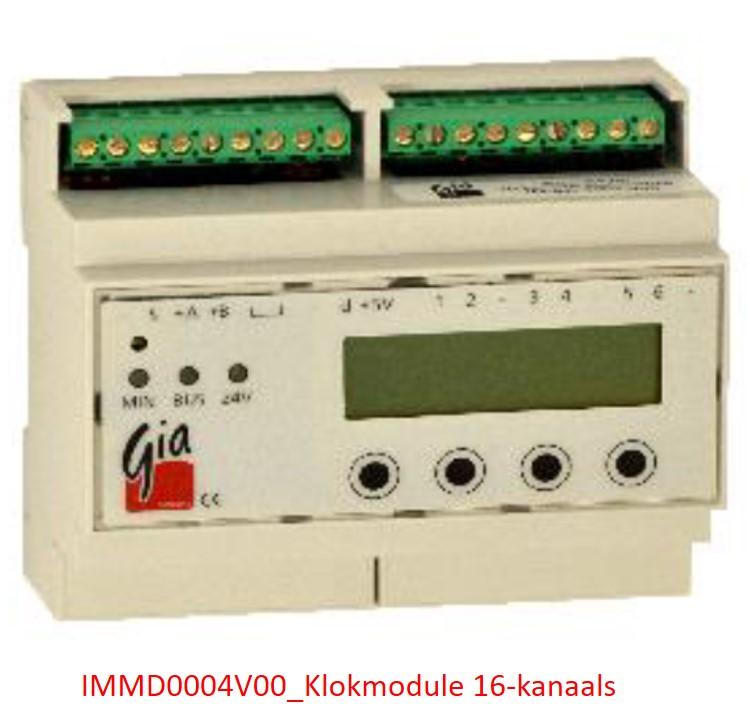 IMMD0004V00_Klokmodule 16-kanaals